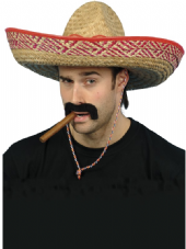 Wild West Straw Sombrero